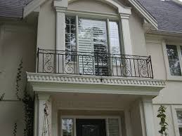 exterior wood railing. wrought iron balcony railings designs with wall brick ideas home gallery also front house railing design images exterior wood