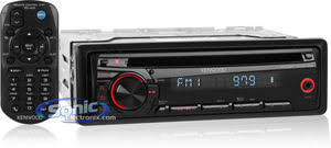 open box complete kenwood kdc 152 in dash car cd mp3 stereo w kenwood kdc 152 open box open box in dash car cd mp3 wma stereo receiver w 3 5mm auxiliary input red illuminated buttons