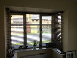 Roman Blinds All Round Bay Window In Andrew Martin Silk  Home Roller Blinds Bay Window