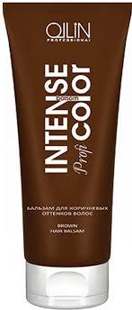 Ollin <b>Бальзам для коричневых оттенков</b> волос Intense Profi Color ...