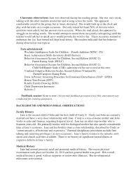 full psychological report sample 4