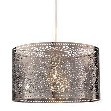 creative home design barrel lamp shade chandelier colours kinsei bronze bronze effect cutout foliage light