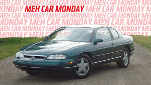 Meh Car Monday: The 1994-1999 Chevy Monte Carlo Was The One To Ignore