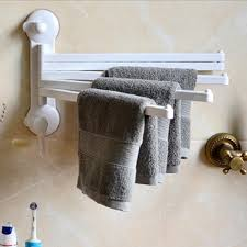 Kitchen towel holder Cast Iron Ouneed Towel Bar Rotating Bathroom Towel Rack Kitchen Towel Polished Rack Holder Towel Hanging With Hooks Hardware Accessory Aliexpresscom Ouneed Towel Bar Rotating Bathroom Towel Rack Kitchen Towel Polished
