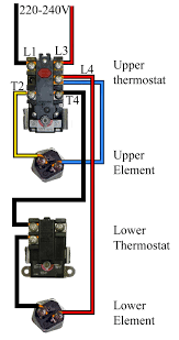 reliance water heater wiring diagram wiring diagram schematics how to wire water heater thermostat