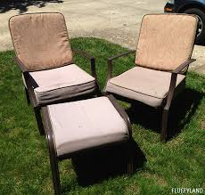 patio chairs with cushions.  With Recovered Patio Chair Cushions  Before To Patio Chairs With Cushions C