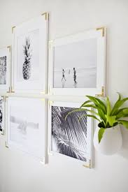 try this update simple frames with gold hardware on white and gold framed wall art with try this update simple frames with gold hardware diy love