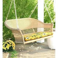 outdoor porch swing bed round
