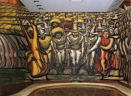 the revolution mural david alfaro siqueiros