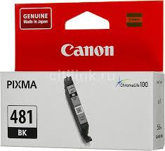 Купить <b>Картридж CANON CLI-481</b> BK, черный в интернет ...
