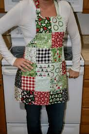 Make Your Own Apron Design Womens Christmas Apron Christmas Apron Ladies Christmas