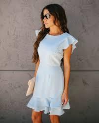 Light Blue Ruffle Dress Mad Hatter Ruffle Dress Light Blue Final Style In 2019