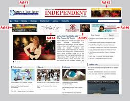ad sample metrovan independent media luisa marshall