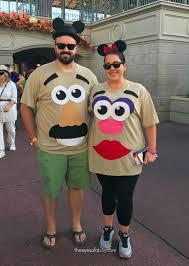 mr and mrs potato head family costume mnsshp