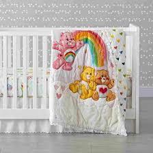 our makes the rhcom carebear crib bedding care bears our makes the rhcom vintage bear