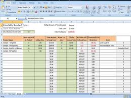 Tracking Sales In Excel Printable Digital Product Sales Tracker Profit Tracking