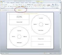 Microsoft Word Cd Templates Cd Label Template Microsoft Word Buddhawithin Me