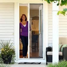 patio door with screen. Patio Doors With Screens ODL Brisa Retractable Screen For Exterior Doors, Door L