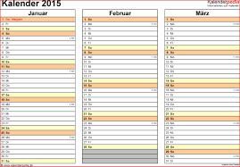 Kalender 2015 Excel Terminplaner Selbst Gestalten Kostenlos 742163 Kalender 2015
