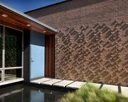 Small Picture Houzz Modern Brick Parapet Wall Exterior Design Ideas Remodel
