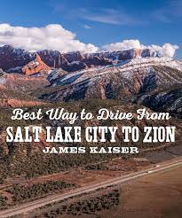 drive from salt lake city to zion
