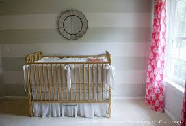 i already told you all about the crib paint here and the crib bedding here and here
