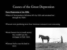 causes of great depression essay similar articles