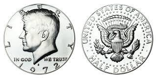 1972 Kennedy Half Dollar Value Chart 1972 S Kennedy Half Dollar Coin Value Prices Photos Info