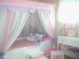 Decoration Canopy Toddler Beds For Girls