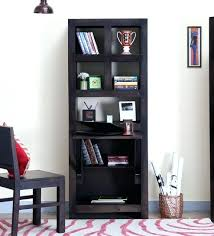 solid wood book shelf antique solid wood bookcase with glass doors