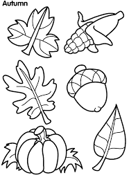 Small Picture Autumn Leaves Coloring Page FoodRecipies Pinterest Autumn