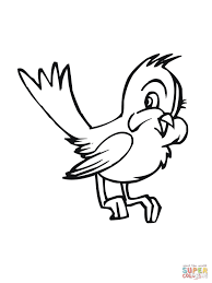 Small Picture Bluebird Coloring Page Mia The Blue Bird Coloring Pages Hellokids