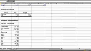 Electrical Box Fill Chart How To Run A Multiple Linear Regression In Xlstat