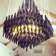 full image for half wine bottle chandelier diy beer bottle chandelier kit fablife diy beer bottle