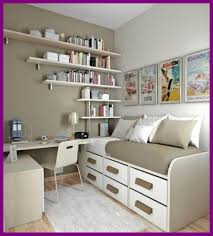 small office in bedroom. Bookshelf Ideas For Small Bedroom Fascinating Natural Office With Creative Book In