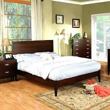 Modern Low Bed Frame Low Profile Wooden Bed Frame Low Profile Bed ...