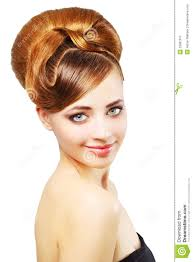Retro Hair Style beautiful girl with retro hairstyle on white stock image image 1512 by wearticles.com