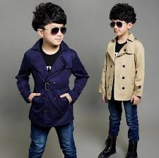simple classic kids boy trench coat gentle soild spring causal trench coat for 4 12years boys male children outerwear clothes hot winter jacket kids boys