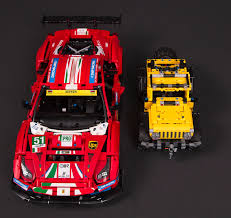 Ferrari's 488 gte af corse #51 has brought home trophies in a number of challenging endurance races. Review 42125 Technic Ferrari 488 Gte Af Corse 51 Lego Technic And Model Team Eurobricks Forums
