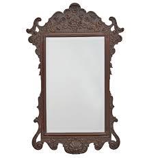 hand holding antique mirror. Large Beveled Mirror W/ Ornately Carved Frame By Kittinger Hand Holding Antique N