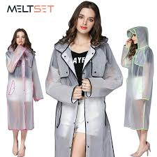 2018 transpa rain coat women long raincoat plus size hooded impermeable trench coat motorcycle rain cover camping hiking poncho from rudelf