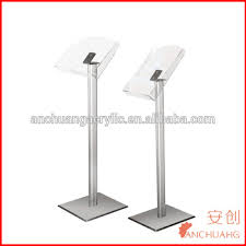 Catalogue Display Stand Beauteous Acrylic Brochure Display Stand Floor Stands Catalogue Shelf