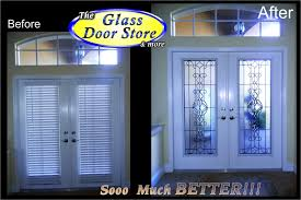 patio door glass insert surprise front stained inserts elegant doors stunning entry home design 12