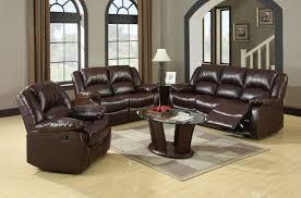 Rustic Leather Living Room Furniture Furniture Of America Cm6556 S Cm6556 L Cm6556 C Winslow 3 Pieces