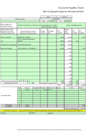 Expense Template In Excel Monthly Expense Report Template Excel Cumed Org