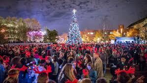 Greensboro Christmas Tree Lighting Holiday Light Shows Glow With Seasonal Cheer Visitnc Com