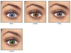 Freshlook Lenses Colors Chart 7 Best Freshlook Colored Prescription Contacts Images