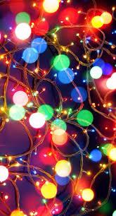 Natal Circle Holiday Lights Wallpapers Iphone In 2019 Christmas Lights Wallpaper