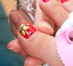Pedicure Flower Nail Designs - Best Nail Ideas