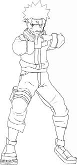Small Picture Naruto Coloring Pages